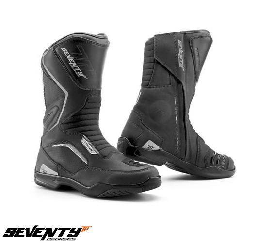 Ghete (cizme) moto Touring Unisex Seventy model SD-BT2 culoare: negru [0]
