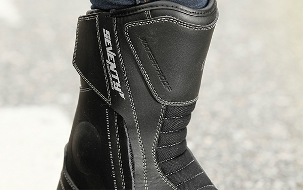 Ghete (cizme) moto Touring Unisex Seventy model SD-BT3 (varianta scurta a ghetelor SD-BT2) culoare: negru [3]