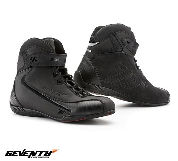 Ghete moto Urban Unisex Seventy model SD-BC6 culoare: negru [0]