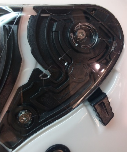 Kit mecanism viziera casca open-face MT Avenue SV [0]