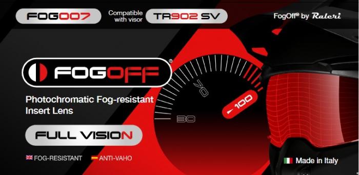 Lentila antiaburire fotocromatica pinlock – compatibila cu castile MT Streetfighter SV (tip TR902) – Full Vision [0]