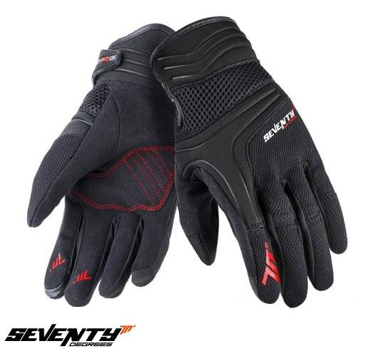 Manusi barbati neoprene/textil Urban vara Seventy model SD-C18 negru/rosu [0]