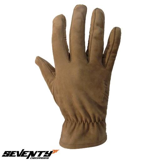 Manusi barbati piele (nobuck) Seventy model SD-C34 culoare: maro – marime: M (8) [0]