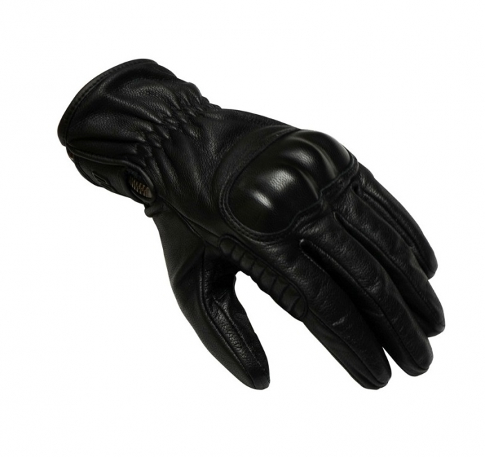 Manusi barbati piele Unik Racing model C-66 vintage culoare: negru [1]