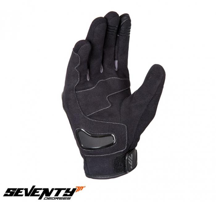 Manusi barbati Racing/Naked vara Seventy model SD-N14 negru/gri – degete tactile [2]