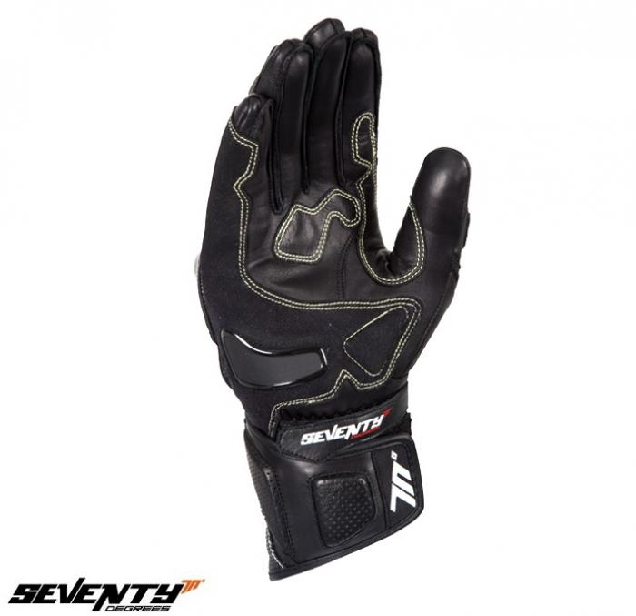 Manusi barbati racing vara Seventy model SD-R2 negru/galben [2]