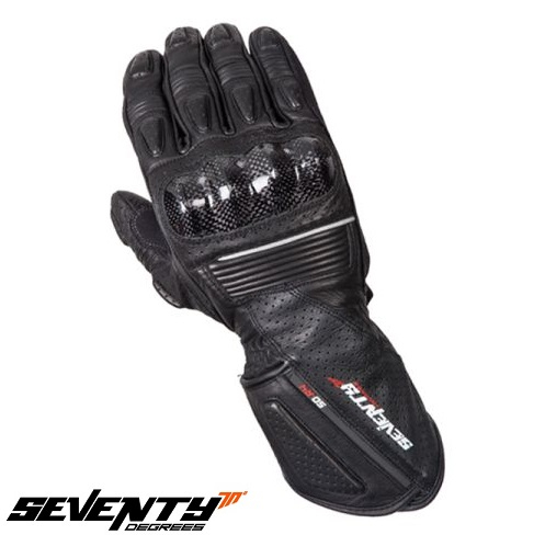 Manusi barbati racing vara Seventy model SD-R4 negru/gri – marime: XXL (11) [0]