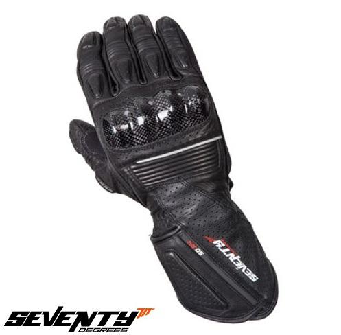 Manusi barbati racing vara Seventy model SD-R4 negru/gri – marime: XL (10) [0]