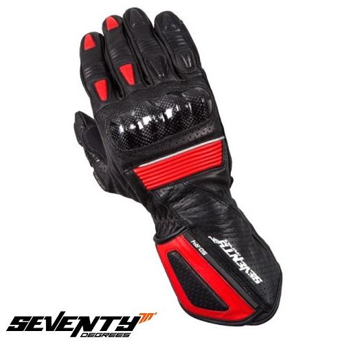 Manusi barbati racing vara Seventy model SD-R4 negru/rosu – marime: S (7) [0]