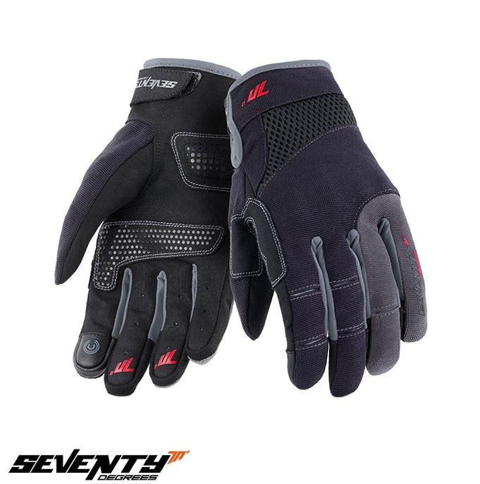 Manusi barbati Urban vara Seventy model SD-C48 negru/gri – degete tactile [0]
