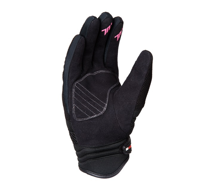 Manusi femei (dama) neoprene/textil Urban vara Seventy model SD-C28 negru/roz [2]