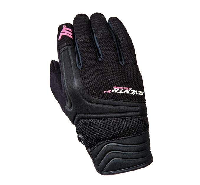 Manusi femei (dama) neoprene/textil Urban vara Seventy model SD-C28 negru/roz [1]