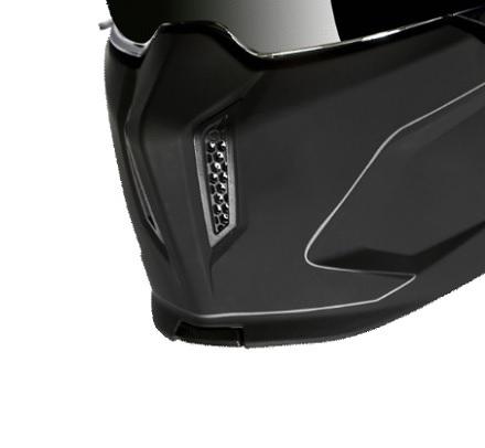Masca (protectie) barbie casca MT Streetfighter SV solid A1 negru mat (ochelari soare integrati) [0]