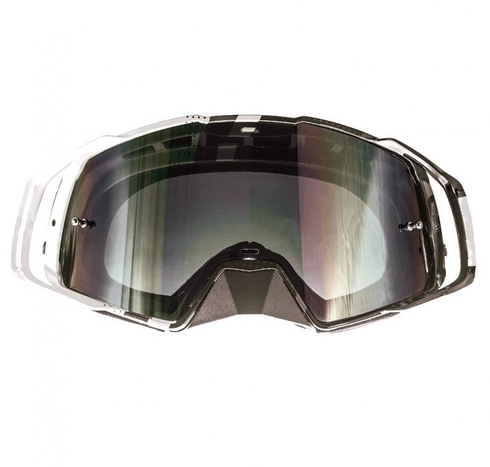 Ochelari MT off road (cross-enduro) MX EVO Stripes – culoare negru/alb [1]