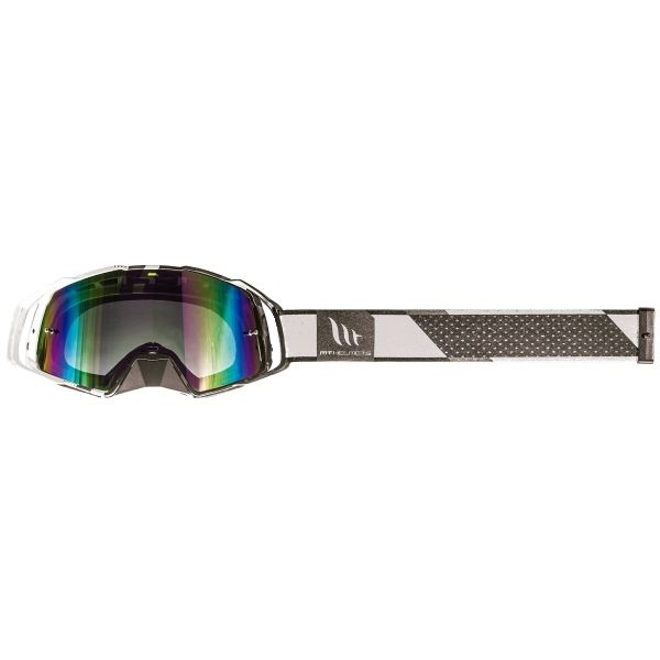 Ochelari MT off road (cross-enduro) MX EVO Stripes – culoare negru/alb [2]