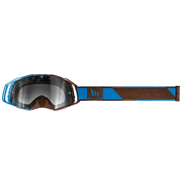 Ochelari MT off road (cross-enduro) MX EVO Stripes – culoare negru/albastru [2]