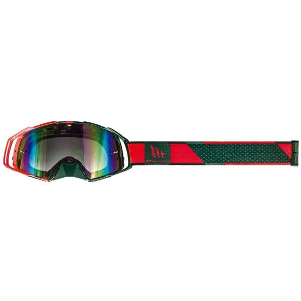 Ochelari MT off road (cross-enduro) MX EVO Stripes – culoare negru/rosu [2]