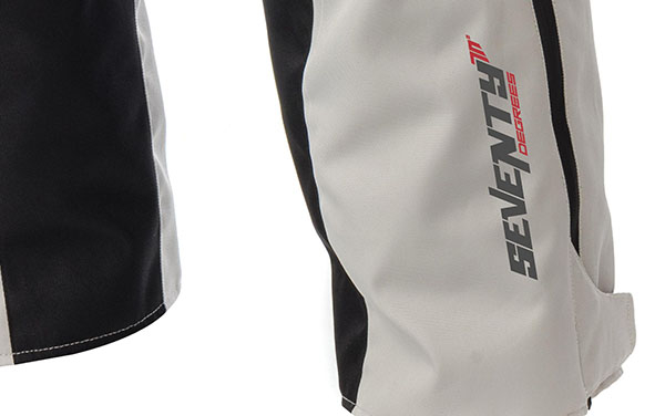 Pantaloni motociclete Touring unisex Seventy vara/iarna model SD-PT1 culoare: negru/gri [4]
