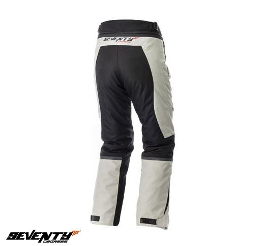 Pantaloni motociclete Touring unisex Seventy vara/iarna model SD-PT1 culoare: negru/gri [1]