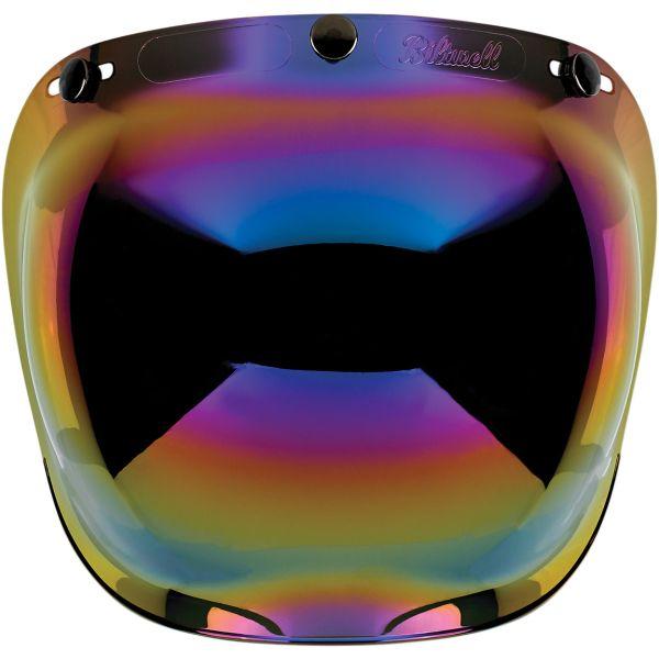 Viziera oglinda iridium (curbubeu) (bubble visor) casca Custom Rider – Le Mans – Le Mans SV [0]