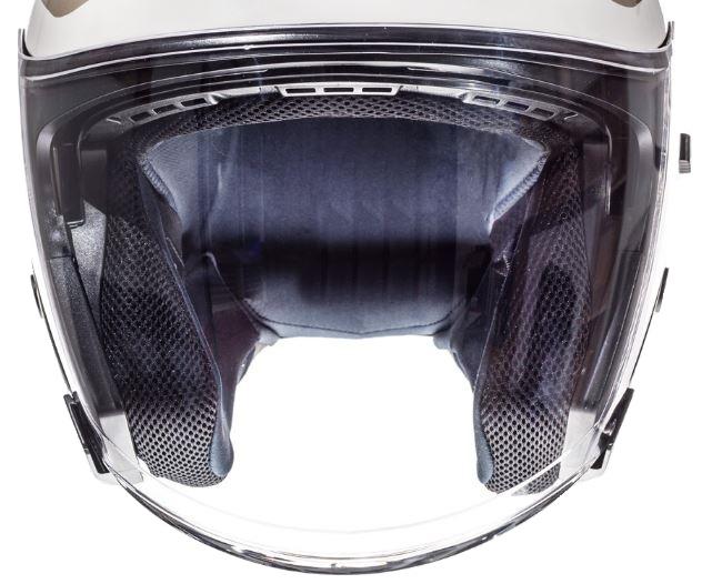 Viziera transparenta casca jet (open face) MT Avenue SV [0]