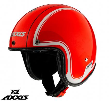 Casca Axxis model Hornet SV Royal A5 rosu lucios (ochelari soare integrati) [0]