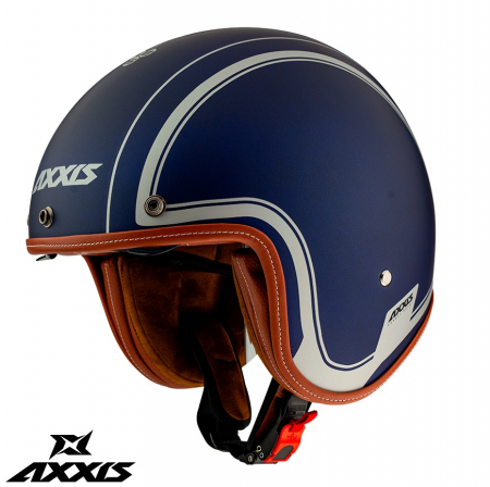 Casca Axxis model Hornet SV Royal A7 albastru mat (ochelari soare integrati) [0]