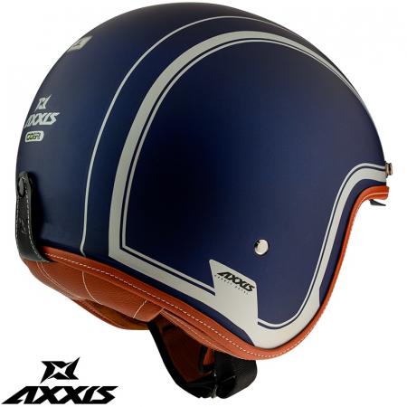Casca Axxis model Hornet SV Royal A7 albastru mat (ochelari soare integrati) [2]