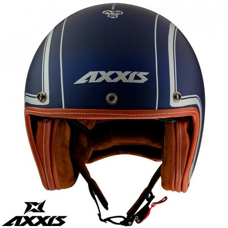 Casca Axxis model Hornet SV Royal A7 albastru mat (ochelari soare integrati) [1]