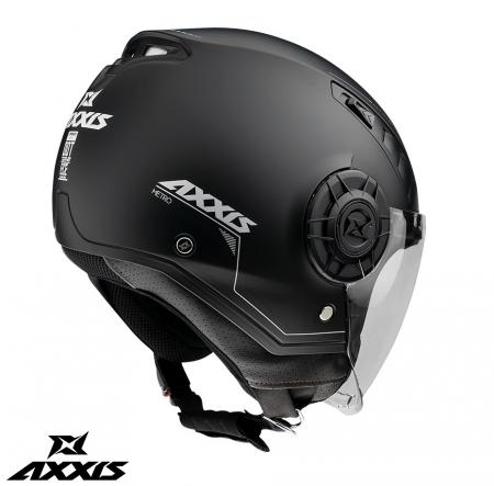 Casca Axxis model Metro A1 negru mat (open face) [2]
