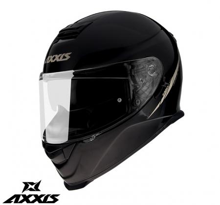 Casca integrala Axxis model Eagle SV A1 negru lucios (ochelari soare integrati) [0]