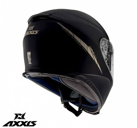 Casca integrala Axxis model Eagle SV A1 negru mat (ochelari soare integrati) [1]