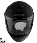 Casca integrala Axxis model Eagle SV A1 negru mat (ochelari soare integrati) [3]