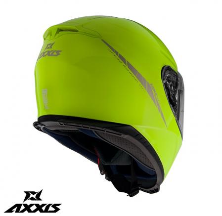 Casca integrala Axxis model Eagle SV A3 galben fluor lucios (ochelari soare integrati) [1]