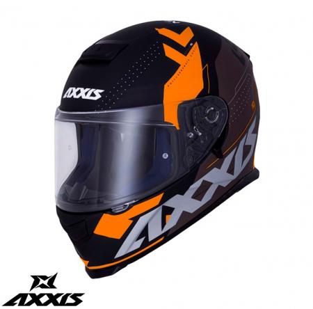 Casca integrala Axxis model Eagle SV Diagon D4 portocaliu mat (ochelari soare integrati) [0]