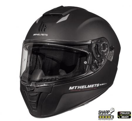 Casca integrala motociclete MT Blade 2 SV A1 negru mat (ochelari soare integrati) [1]