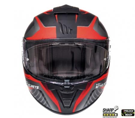 Casca integrala motociclete MT Blade 2 SV Blaster B2 rosu mat (ochelari soare integrati) [2]