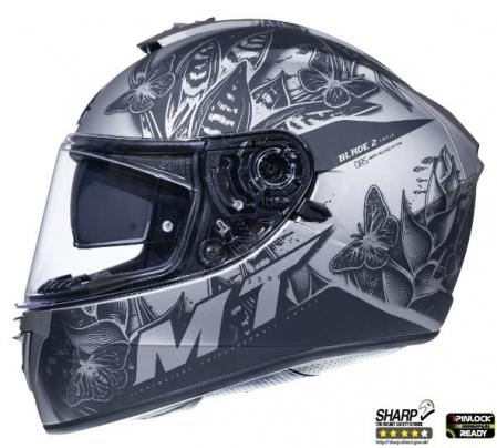 Casca integrala motociclete MT Blade 2 SV Breeze E2 gri mat (ochelari soare integrati) [0]