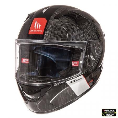 Casca integrala motociclete MT KRE Snake carbon – 100% carbon [1]