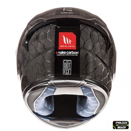 Casca integrala motociclete MT KRE Snake carbon – 100% carbon [3]