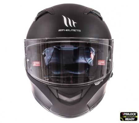 Casca integrala motociclete MT KRE SV negru mat (fibra sticla) – cu ochelari soare integrati [1]