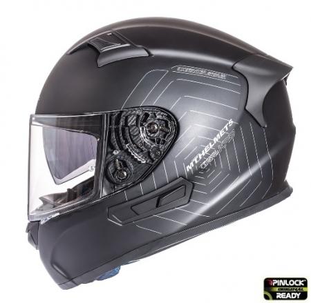 Casca integrala motociclete MT KRE SV negru mat (fibra sticla) – cu ochelari soare integrati [0]