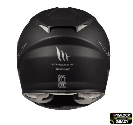 Casca integrala motociclete MT Rapide A1 negru mat (fibra sticla) [3]