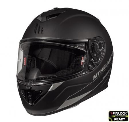 Casca integrala motociclete MT Rapide A1 negru mat (fibra sticla) [1]