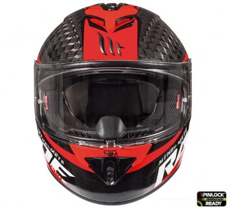 Casca integrala motociclete MT Rapide Pro Carbon C5 rosu lucios – 100% carbon [2]