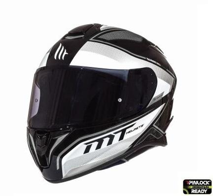 Casca integrala motociclete MT Targo Interact A8 gri/alb/negru lucios [1]