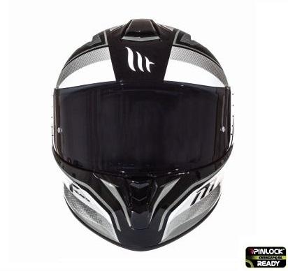 Casca integrala motociclete MT Targo Interact A8 gri/alb/negru lucios [2]