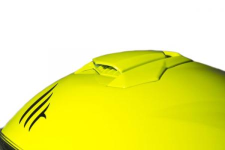 Casca integrala motociclete MT Targo solid A3 galben fluor lucios [5]