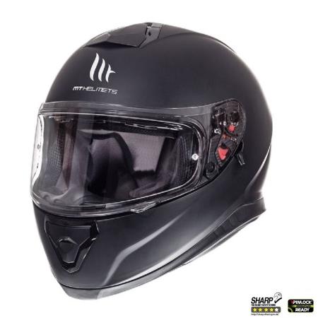 Casca integrala motociclete MT Thunder III SV negru mat (ochelari soare integrati [1]