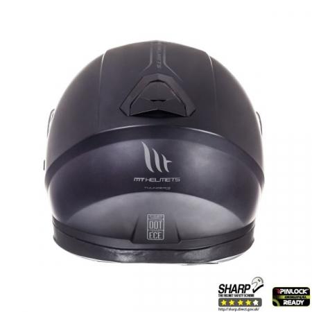 Casca integrala motociclete MT Thunder III SV negru mat (ochelari soare integrati [3]